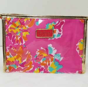New Lily Pulitzer Estee Lauder Makeup Toiletry Bag